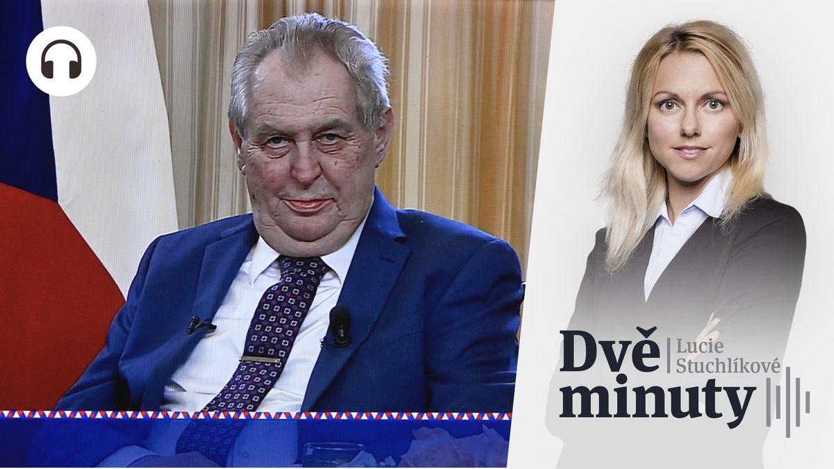 Glosa: Jak se nechytit do Zemanovy pasti
