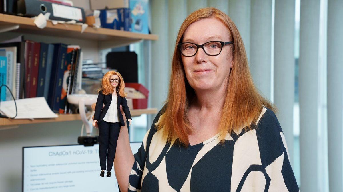 Vyvinula vakcínu, dostala za to vlastní panenku Barbie