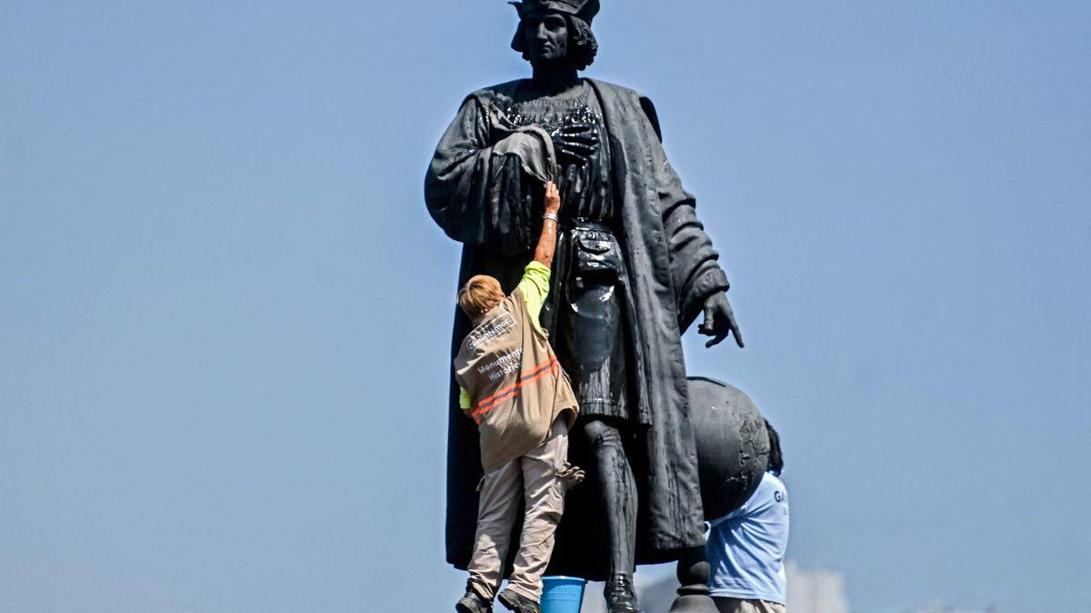 Kolumba nahradí indiánka, mexická metropole rozhodla ovýměně soch