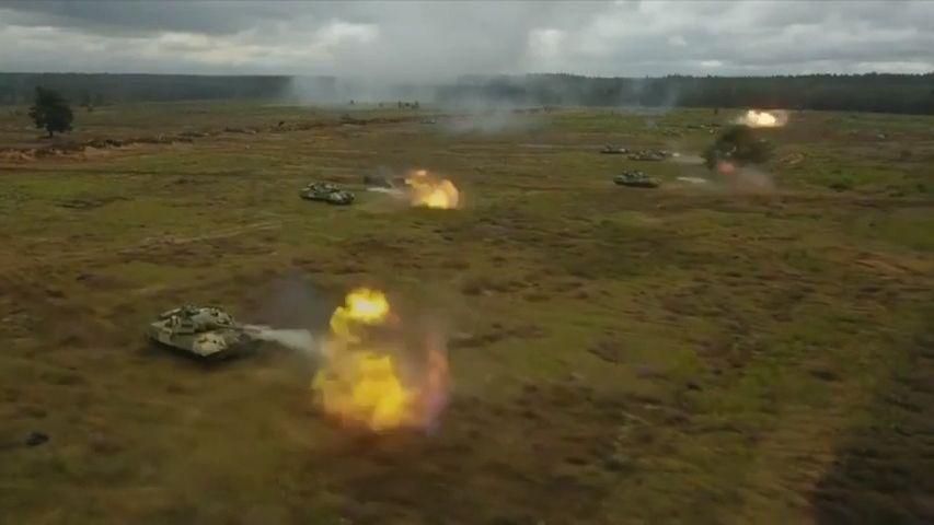 Video: Rusko zahájilo sBěloruskem obří společné vojenské cvičení