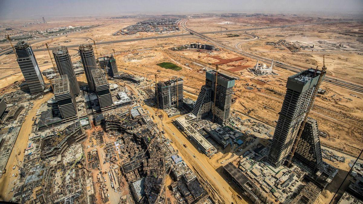 Fotky: Káhira už nestačí, Egypt buduje nové hlavní město