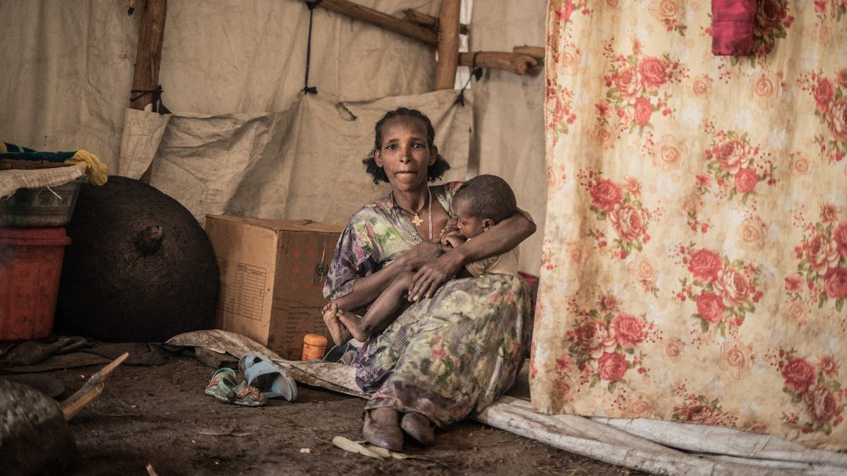 Tisícům dětí hrozí smrt hladem. Etiopie podle OSN čelí humanitární krizi