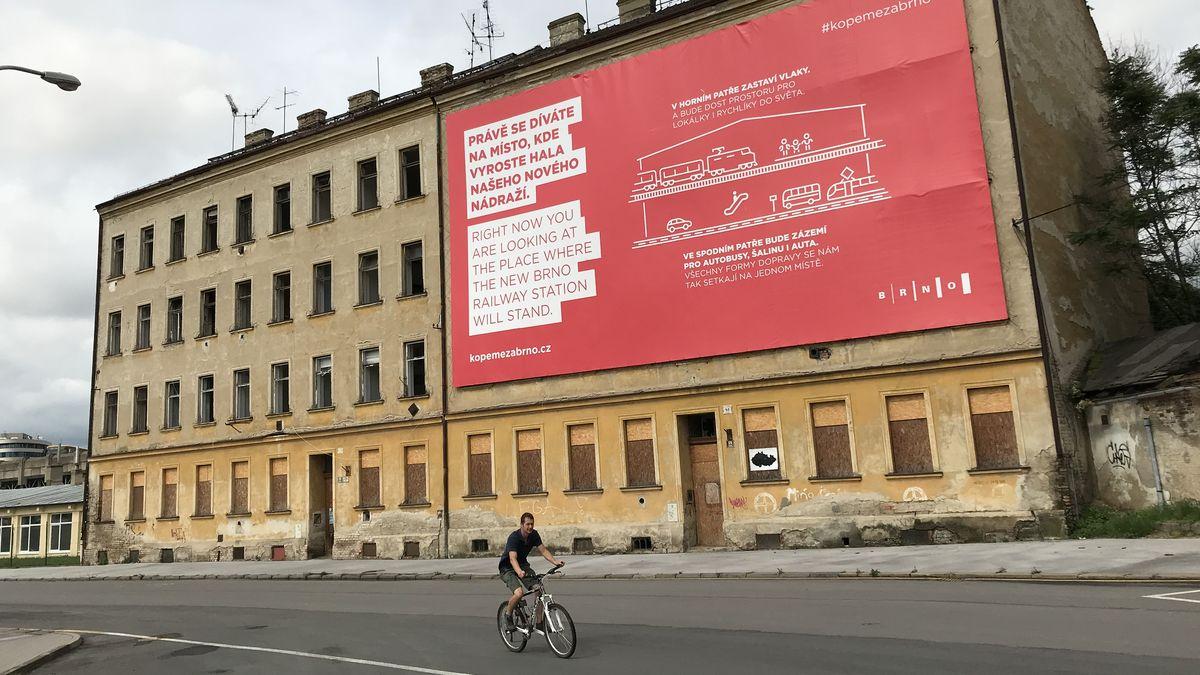 VBrně začala soutěž na autora hlavního nádraží