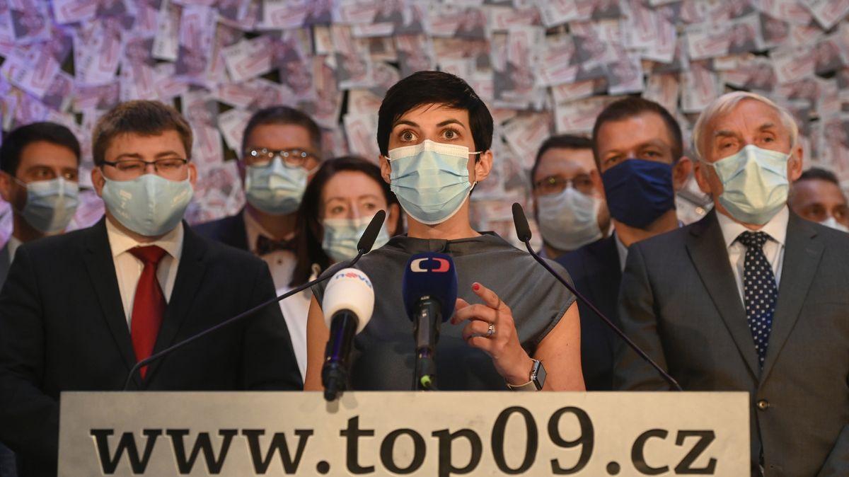 """""""Nenechte se vládou uplatit,"""" varuje TOP 09před krajskými volbami"""