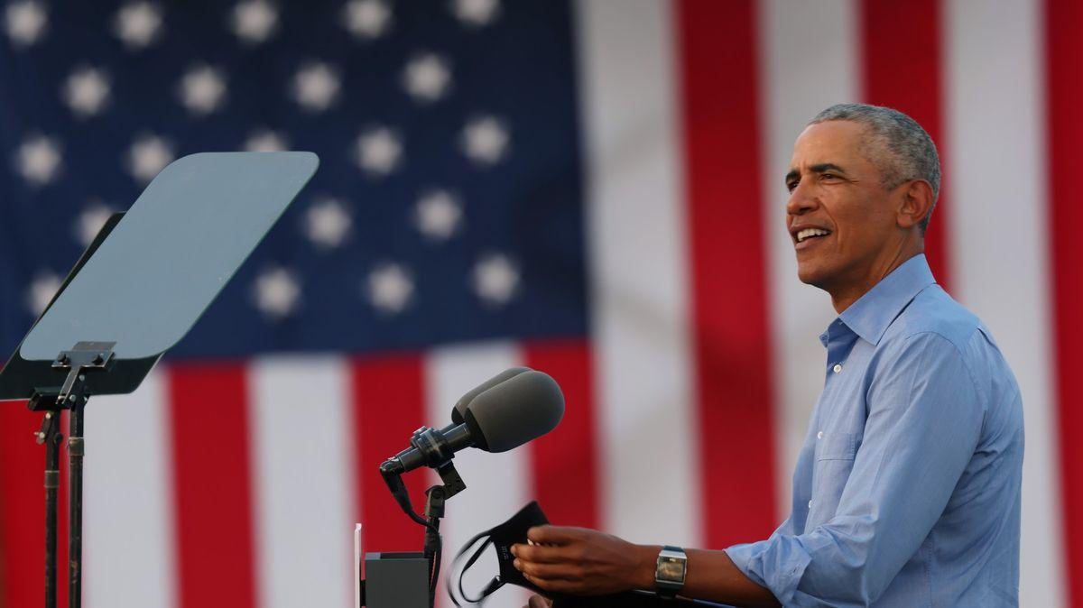 Obama zaútočil na Trumpa: Úřad nezvládl, plete si ho sreality show