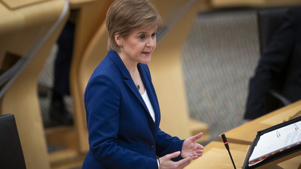 """Skotská """"železná lady"""" chce udělat zVelké Británie Malou Anglii"""
