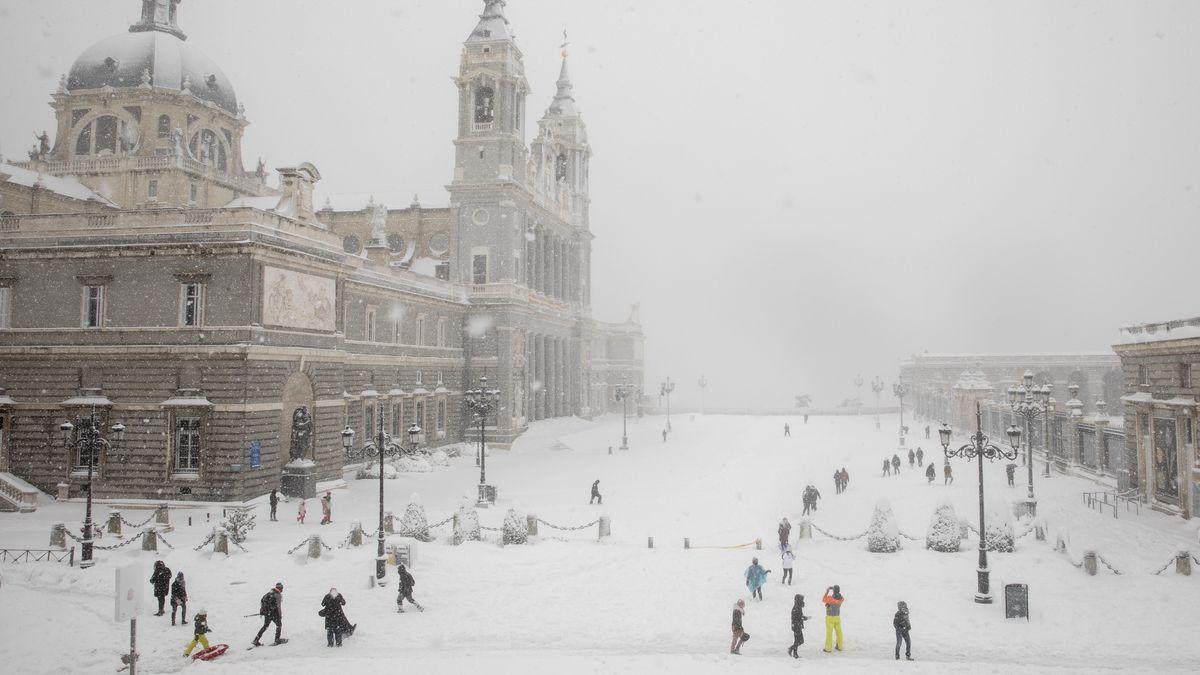 Jak vypadají evropské památky ve sněhovém kabátě