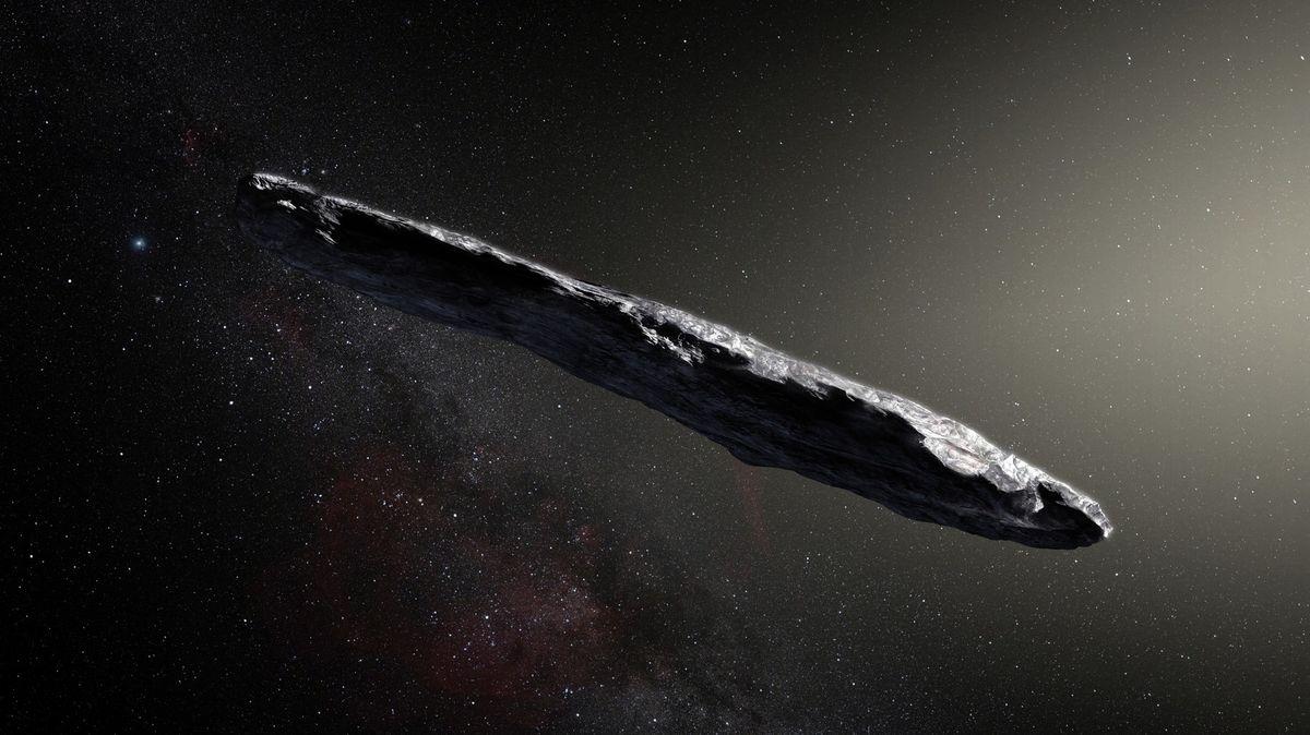 Záhadný objev ve vesmíru. Úlomek planety ve tvaru sušenky