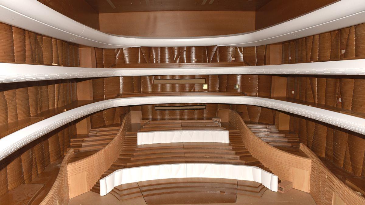 Akustiku nejlepšího koncertního sálu vČesku testují na speciálním modelu