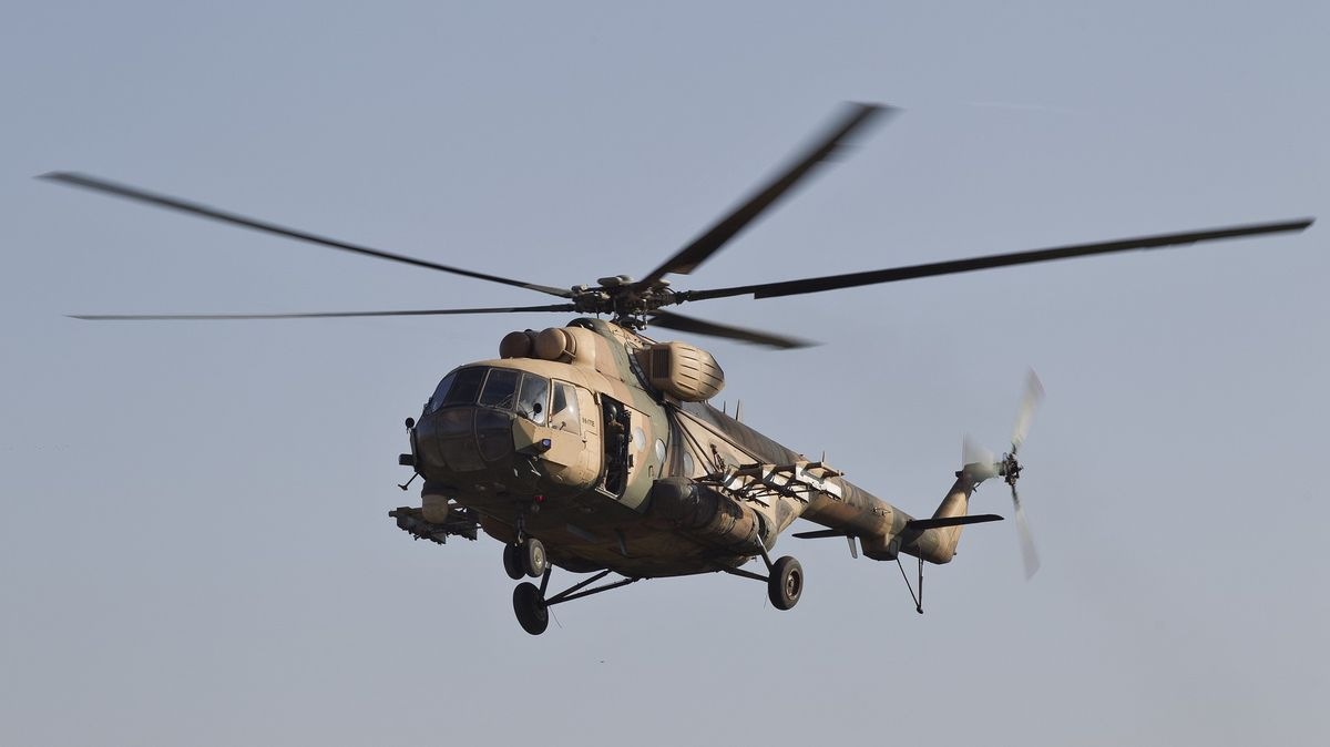Tálibán ukořistil více než stovku vojenských vrtulníků, tvrdí Rusko