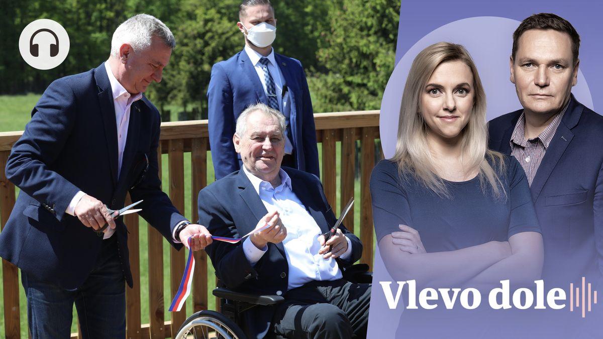 Vlevo dole: Kam zmizí prezidentovi muži? Nejedlý do Moskvy, Ovčáček do SPD