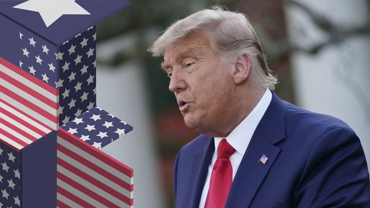 Trump zešedivěl. Hra na city, nebo nenápadná proměna vBidena?