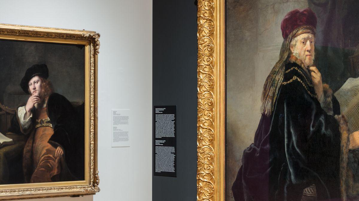 Lidé budou moci vidět výstavu děl Rembrandta on-line