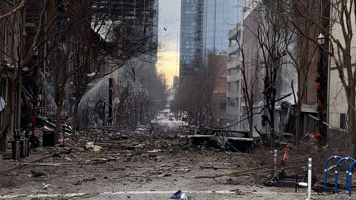 Vyšetřovatelé dopadli možného pachatele výbuchu vNashvillu