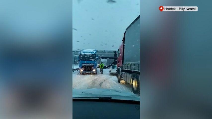 Obrazem: Česko zasypal vydatný sníh