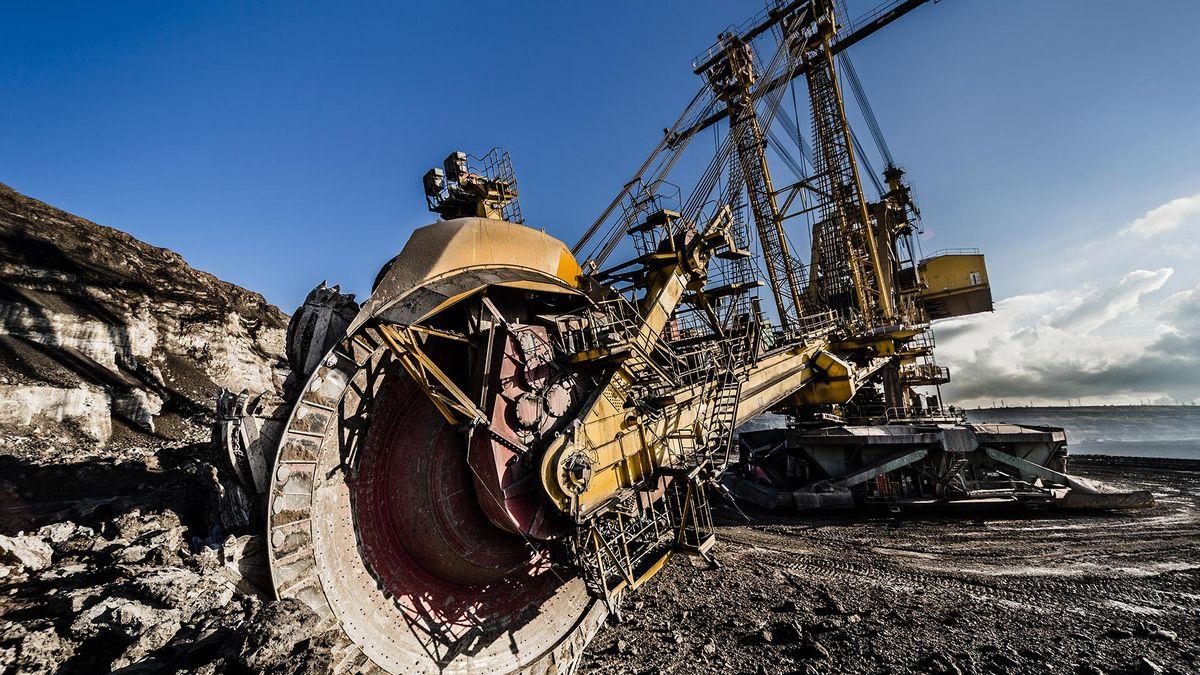 Tykačovým dolům ve Spojených státech prudce propadla těžba