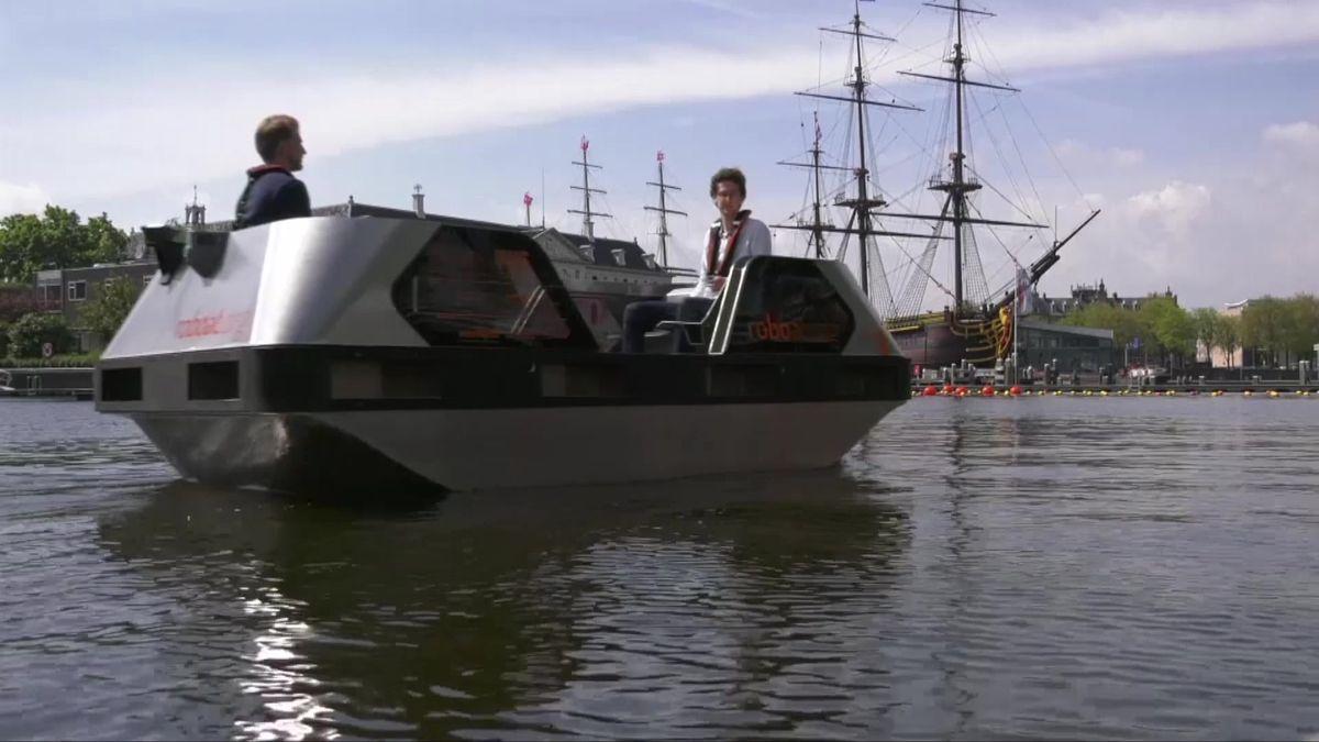 Budoucnost připlouvá. Amsterdam křižují samořiditelné elektrické čluny