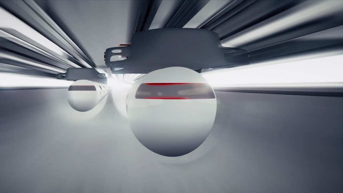"""USA začnou financovat """"podzemní letadlo"""". Vláda podpoří rozvoj hyperloopu"""