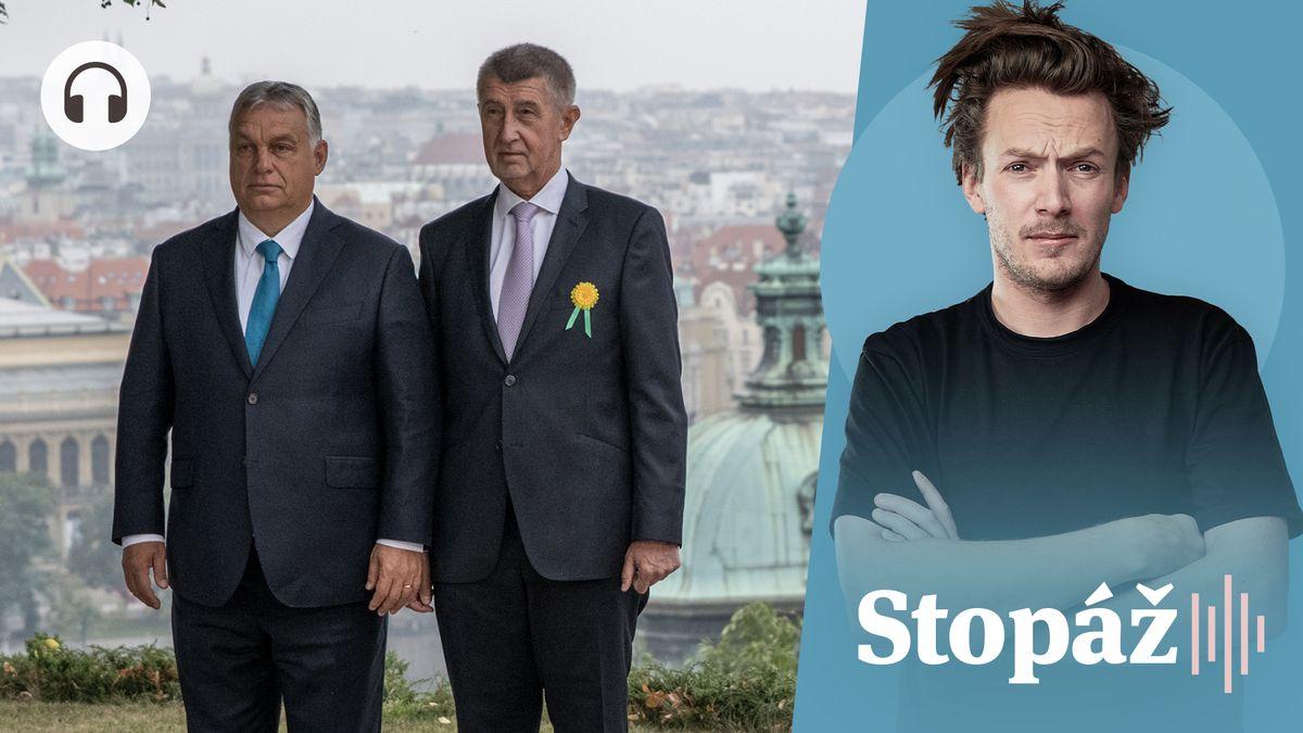 Stopáž: Rozdíl mezi Orbánem a Babišem? Šéf ANO touží po uznání na Západě