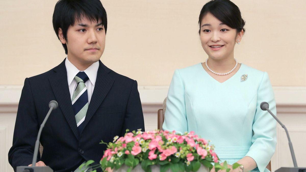 Vdává se japonská princezna. Žádná pohádka se ale nekoná