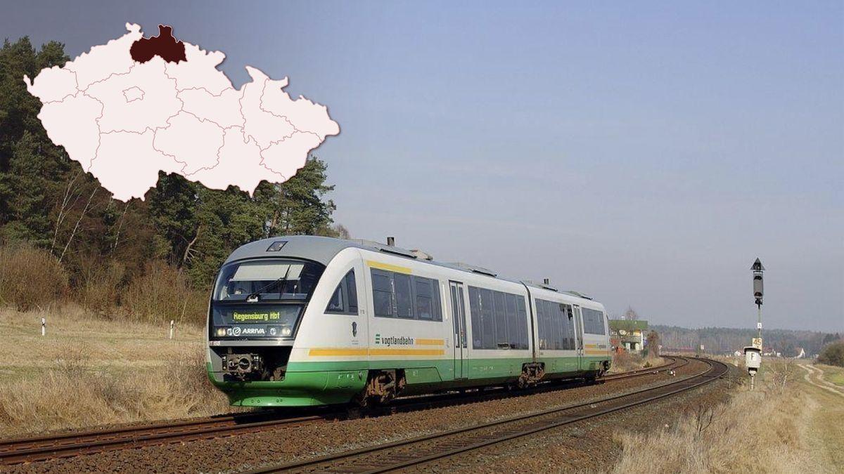Vlaky budou přes Liberecko jezdit jen do Německa, do Polska zatím ne