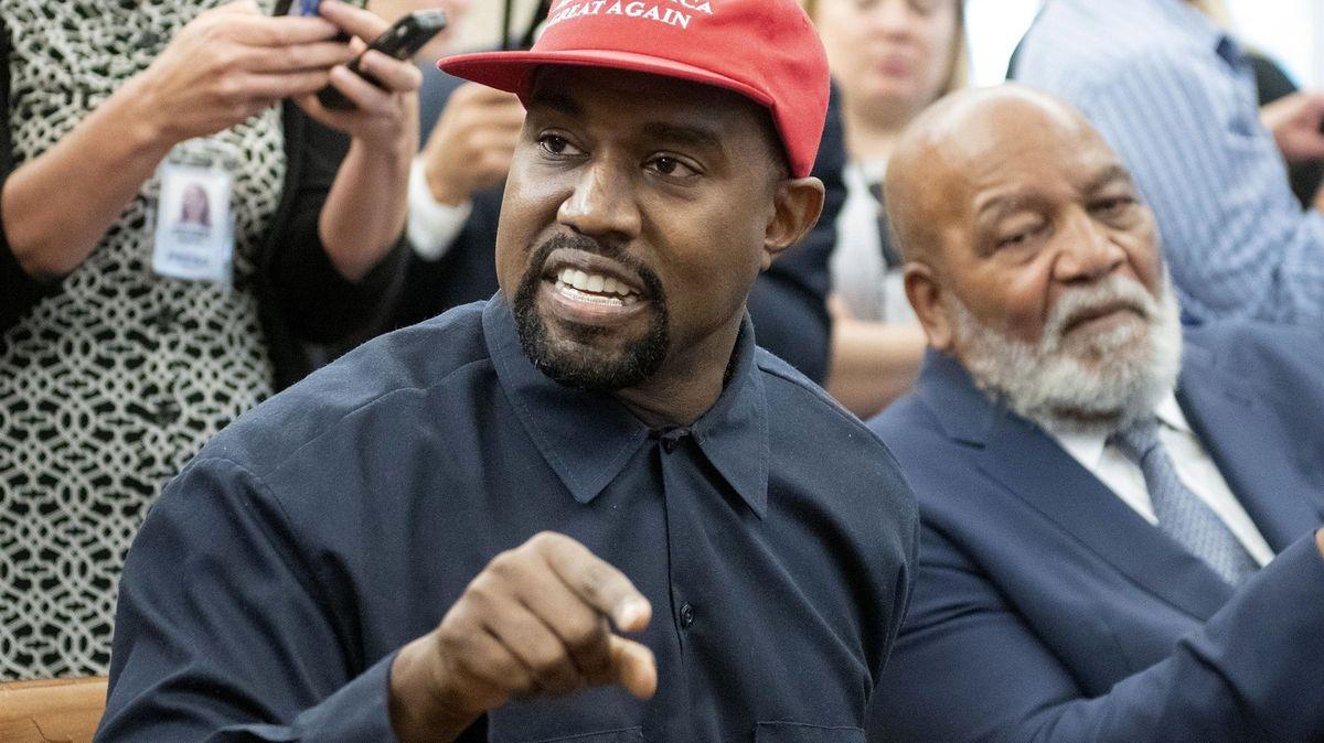 Kanye West chce dobýt Bílý dům. Raper kandiduje na prezidenta sheslem YES!