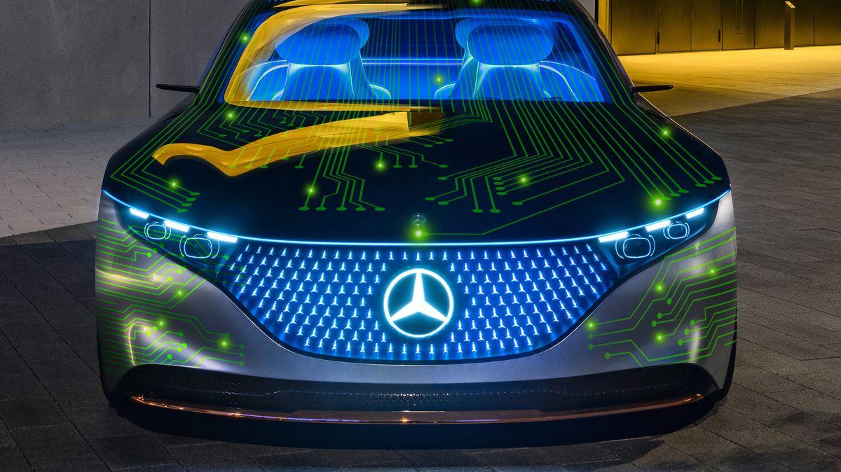 Další auto budoucnosti. Tentokrát ho chystají Mercedes-Benz a Nvidia