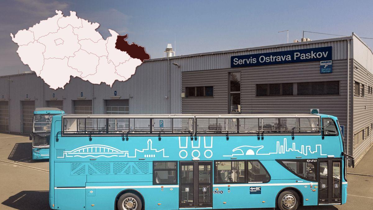 Ostrava jako první vČesku nasadí do MHD dvoupatrové autobusy