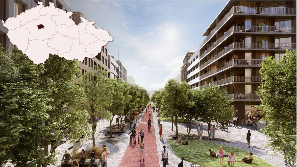 Praha chce mít lepší dohled nad stavbou nové čtvrti Smíchov City