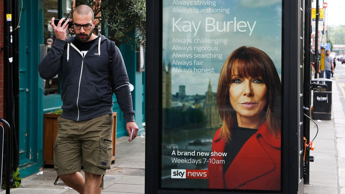Nejznámější tvář Sky News zmizí zobrazovky, porušila koronaopatření