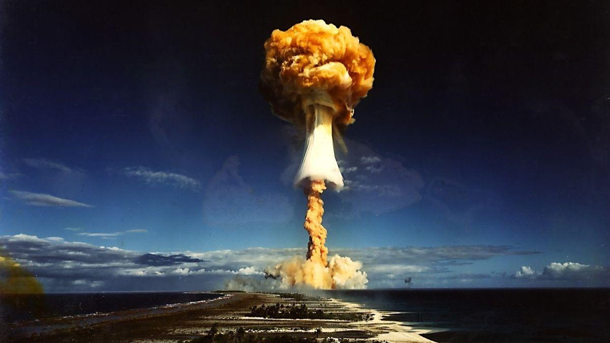 Výbušná odhalení. Doslova. Jaderné testy na atolech měly toxické tajemství