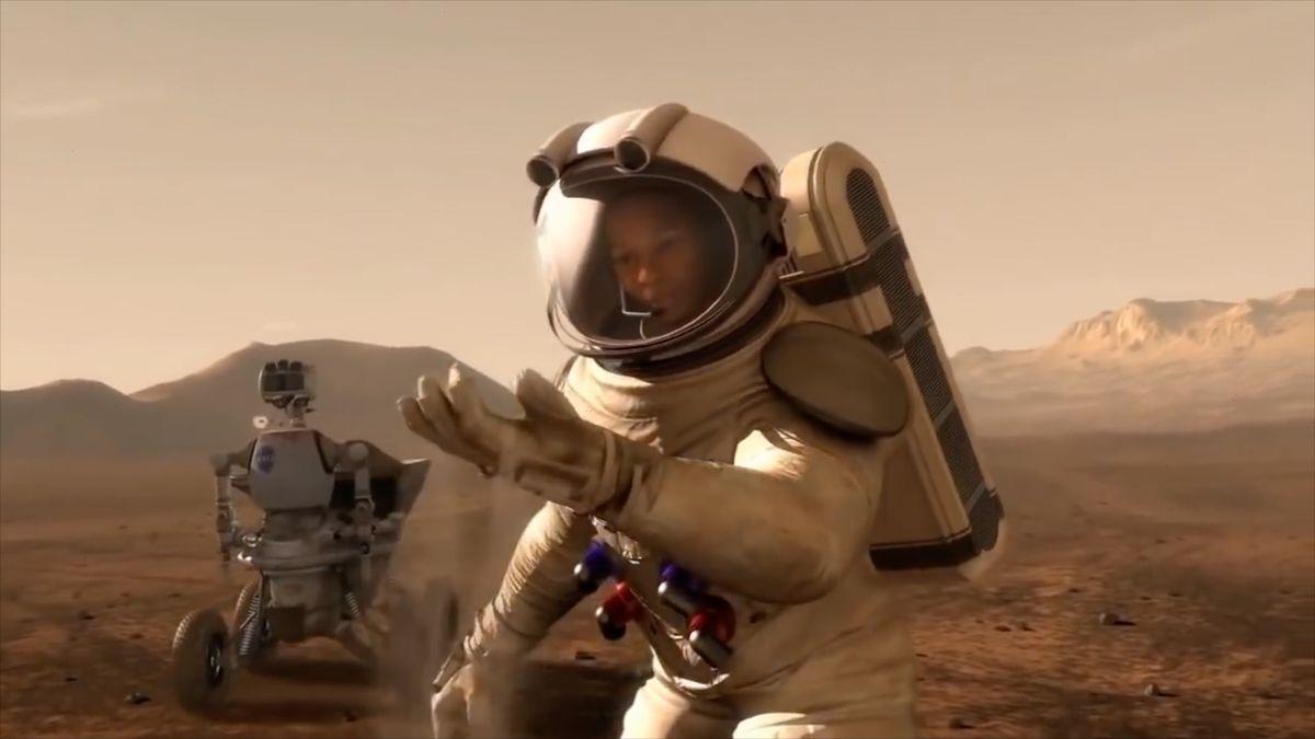 """Čína plánuje """"nebeský žebřík"""", chce sjeho pomocí dobýt Mars"""
