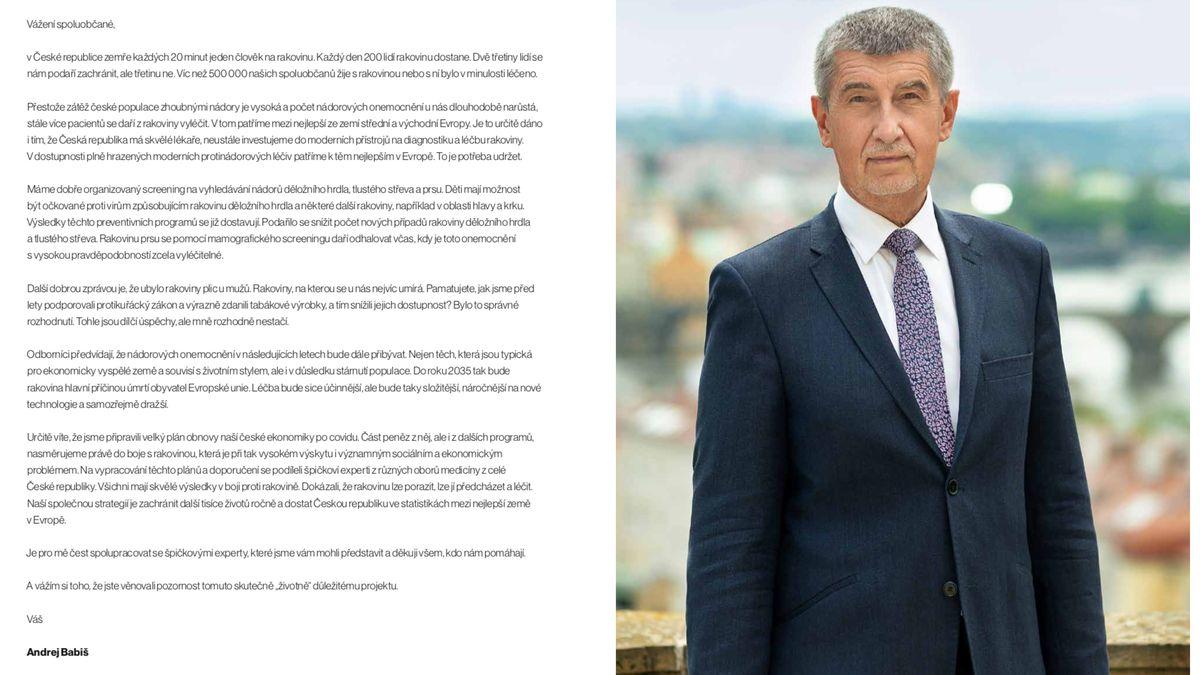 Na rozeslání brožury sBabišem tlačil Vojtěch vdopise, tvrdí VZP