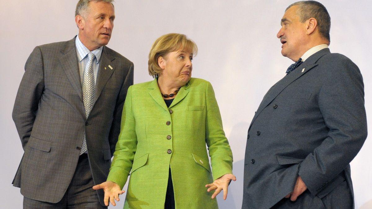 Komu zČechů zvedne Merkelová telefon? Kancléřka vládne už 15let