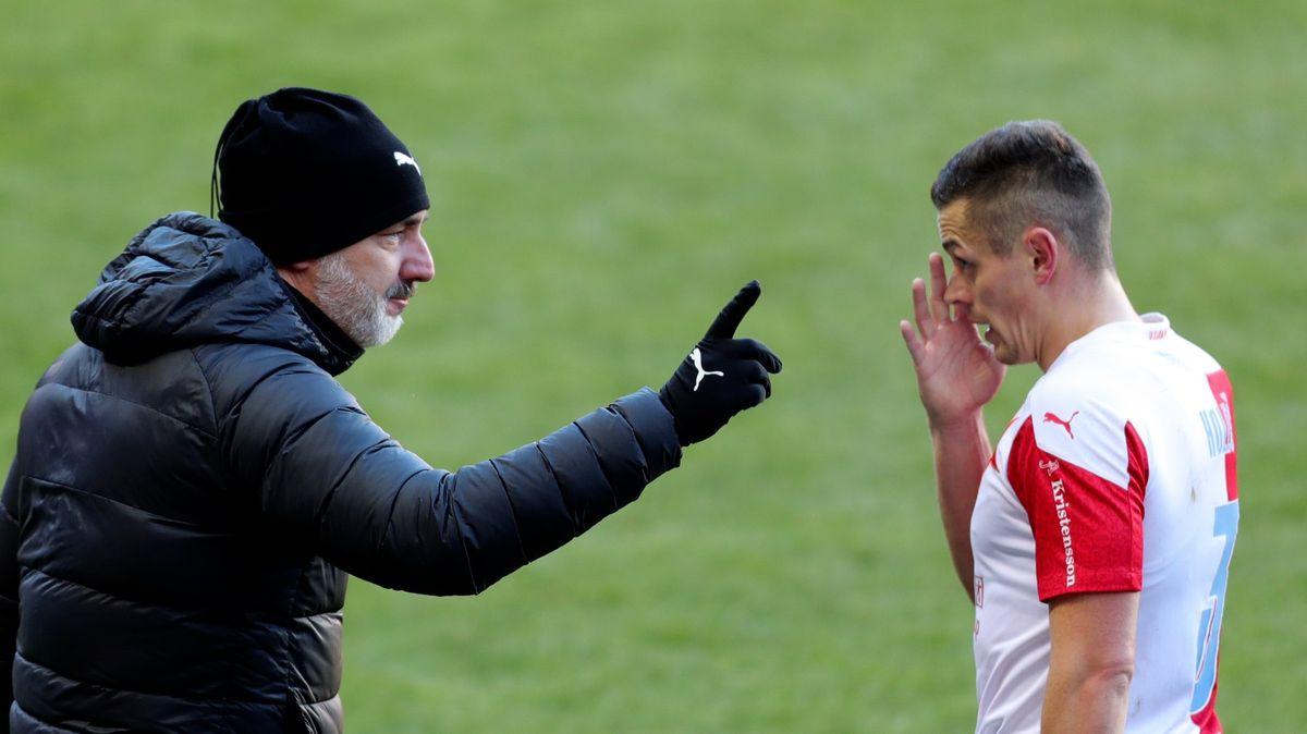 Slavia jde na Leicester. Trpišovský ví, kudy vede cesta kúspěchu