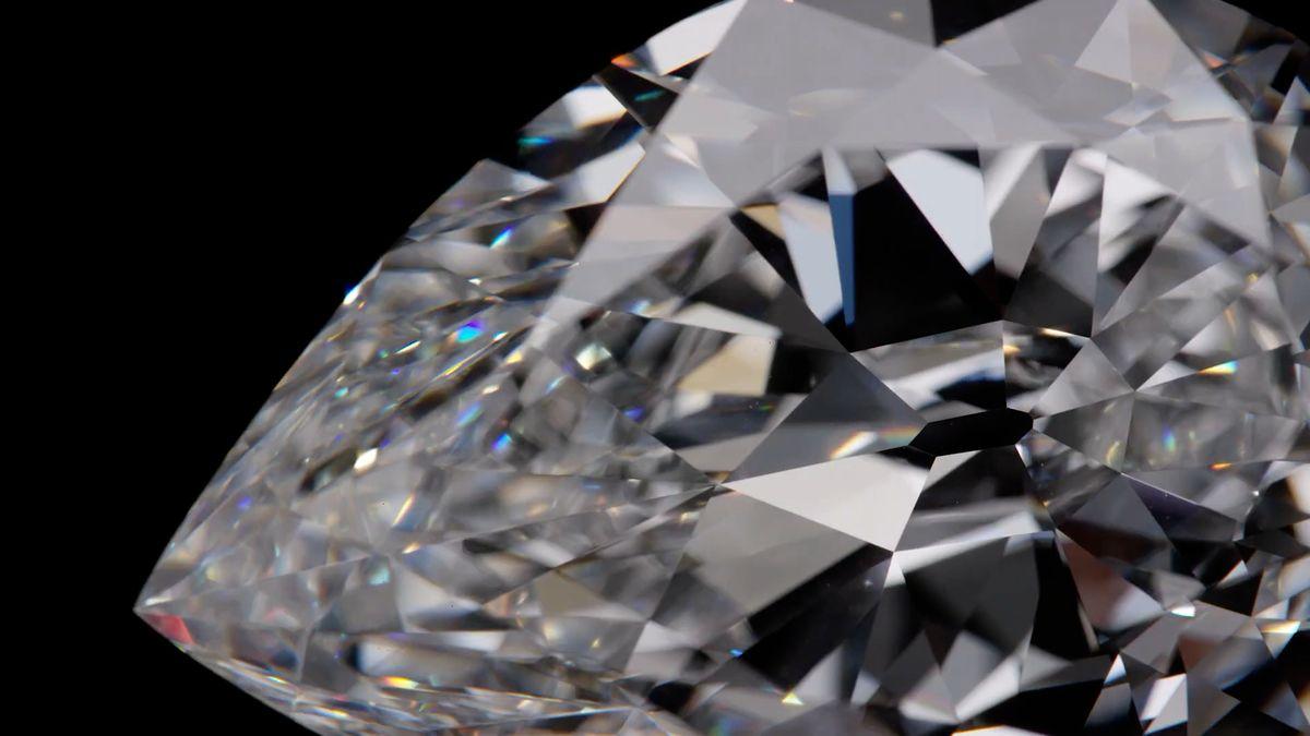 Draží se vzácný diamant. Přes 100karátů lze poprvé platit ikryptoměnou