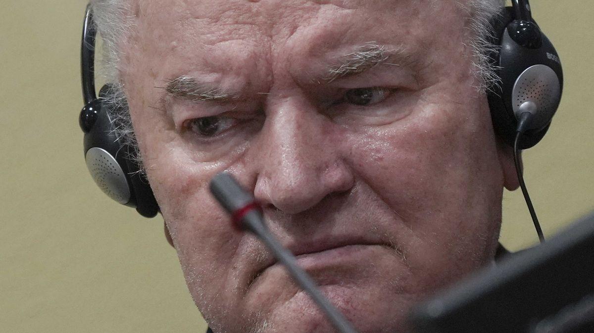Tribunál vHaagu potvrdil Mladičovi doživotní trest za genocidu