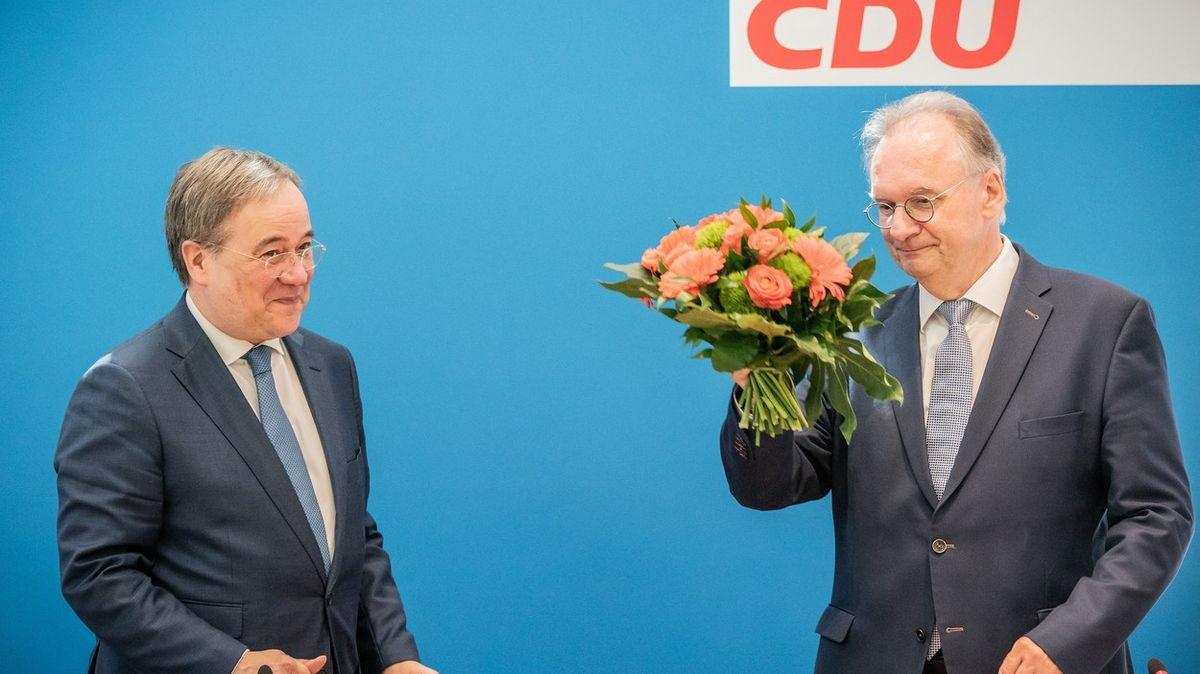 Vzpruha pro CDU, rána pro Zelené, ukázal test před německými volbami