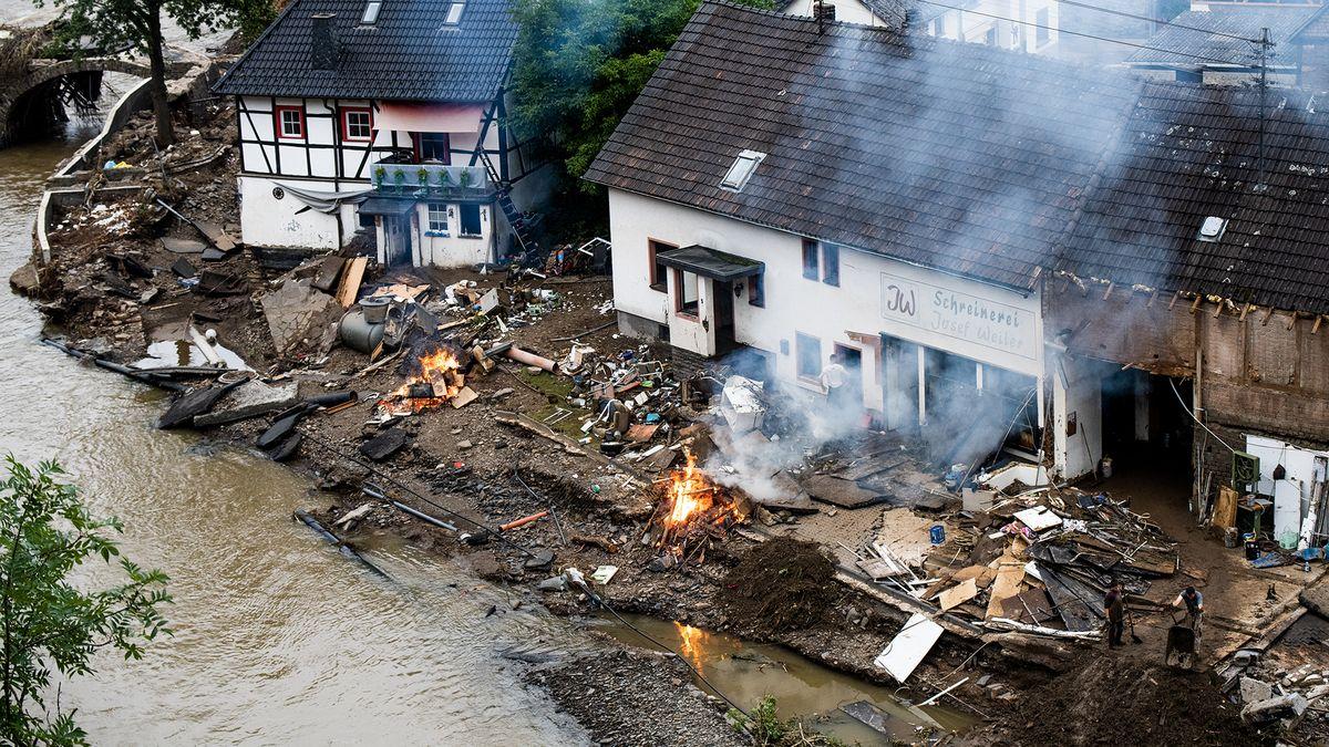 Zázrak na řece Ahr. Německé městečko smetla voda, životy ale nebrala