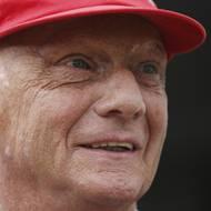 čtk: Niki Lauda šedesátiletý. Snímek byl pořízen v Berlíně v létě 2009.
