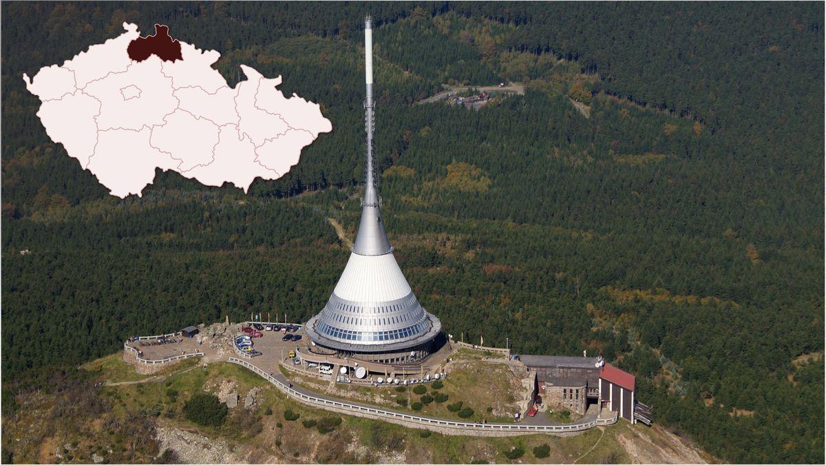 Obnova silnice na Ještěd včervnu neskončí, Liberecký kraj chystá druhou etapu