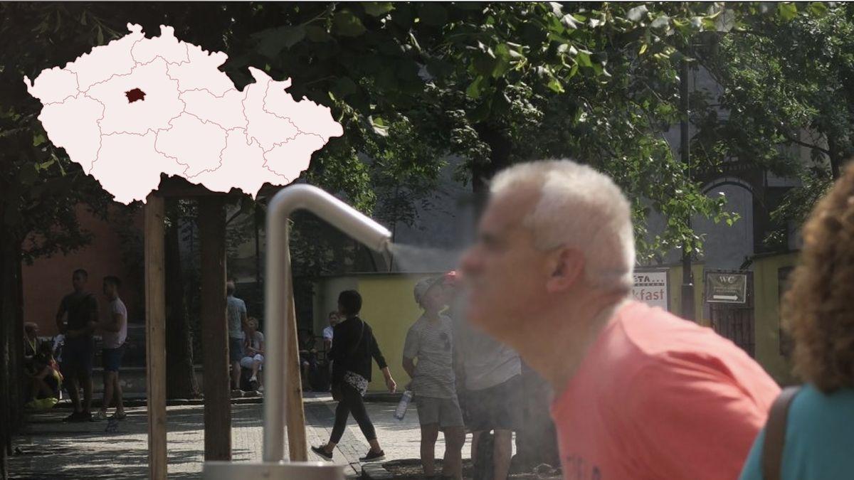 Pražany letos oprázdninách ochladí mlžítka, nově imimo centrum města
