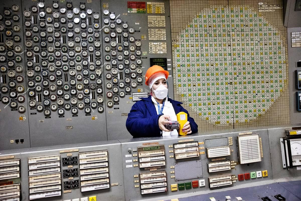 Monika Nedvědová z agentury Černobyl Zaraz, která zájemcům z Česka zprostředkovává exkurzi do ochranné zóny kolem elektrárny.