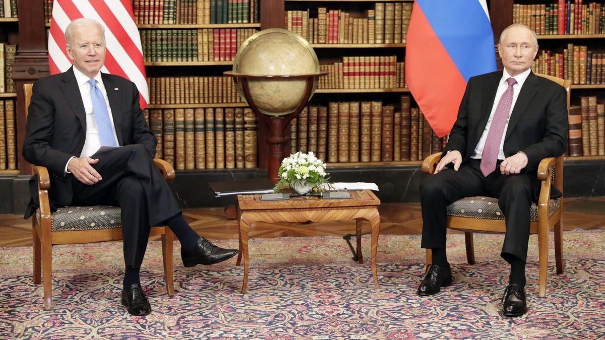 Biden po jednání sPutinem: Jsem pro Ameriku, nejsem proti Rusku