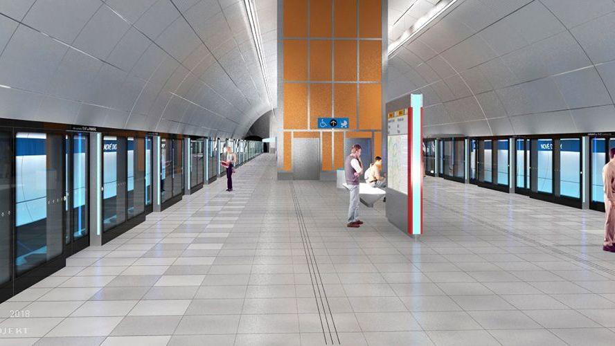 Nové metro D se prodraží téměř na 100miliard. Ato nemusí být konec
