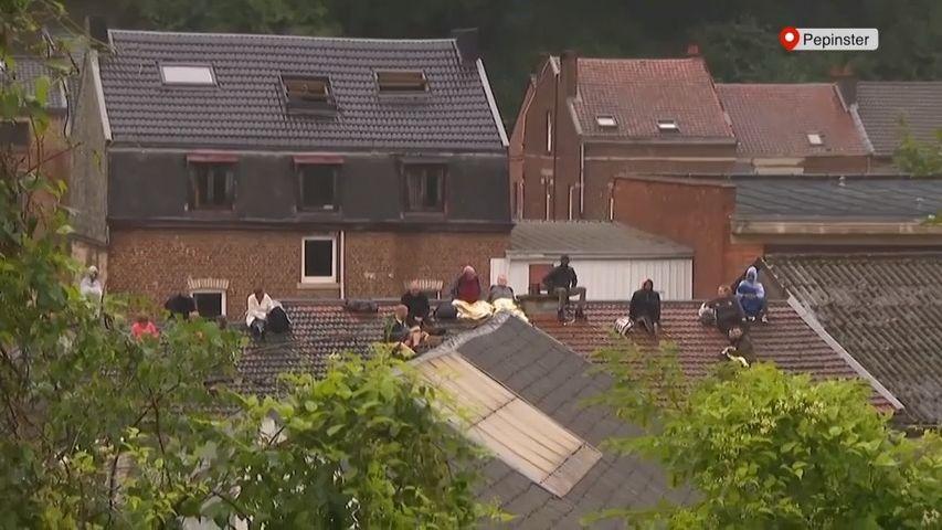 Belgie po záplavách vyhlásila den smutku. 20lidí zemřelo, 20je nezvěstných