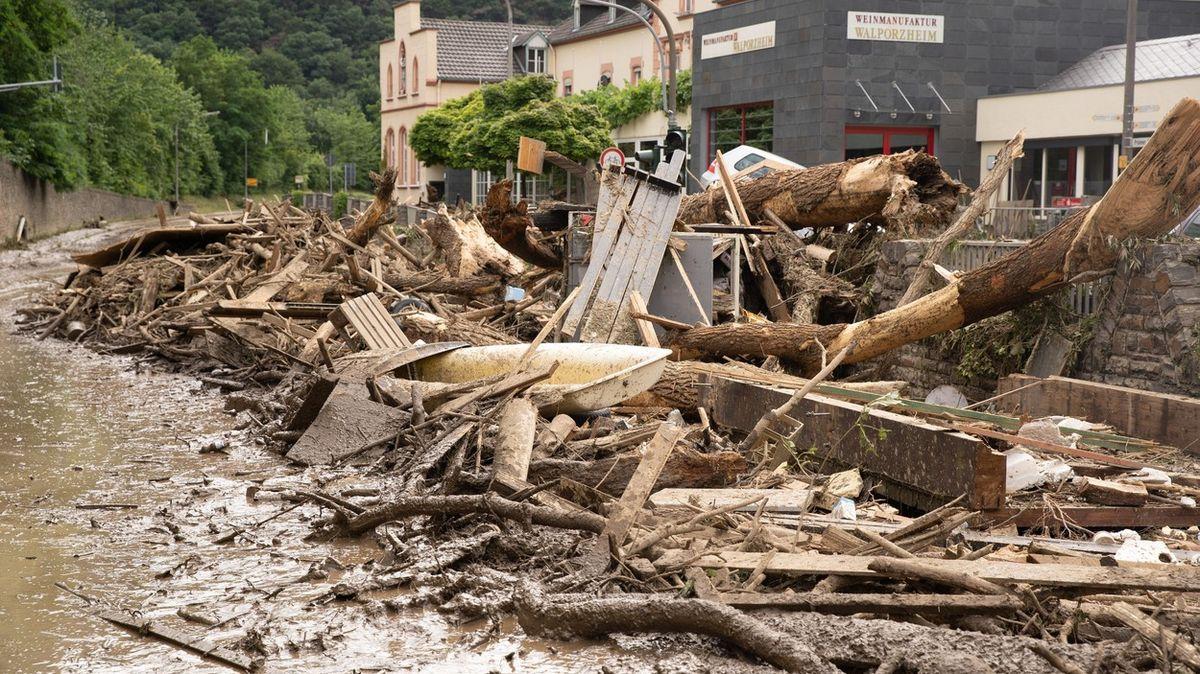 Jak mohlo vůbec takhle pršet? Německé záplavy zaskočily vědce