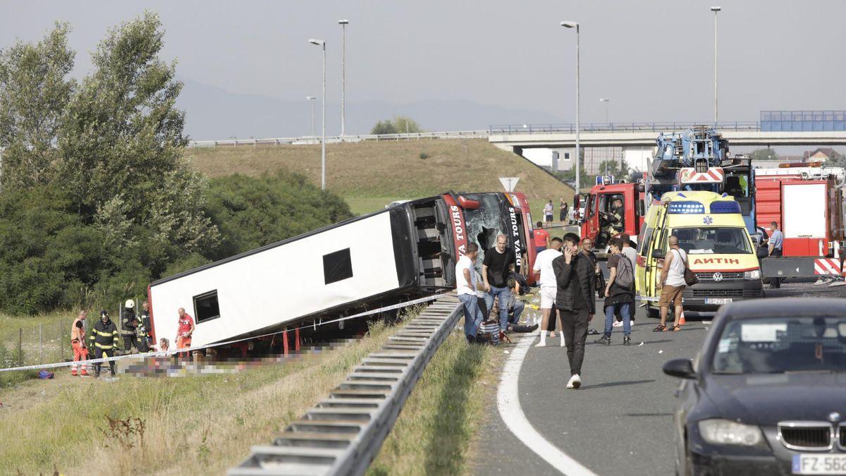 VChorvatsku havaroval kosovský autobus, nepřežilo nejméně 10lidí
