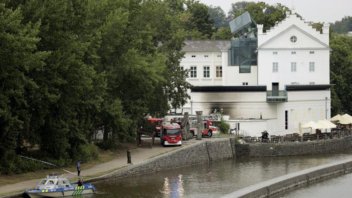 Pražské Museum Kampa, zasažené požárem, se vsobotu opět otevře