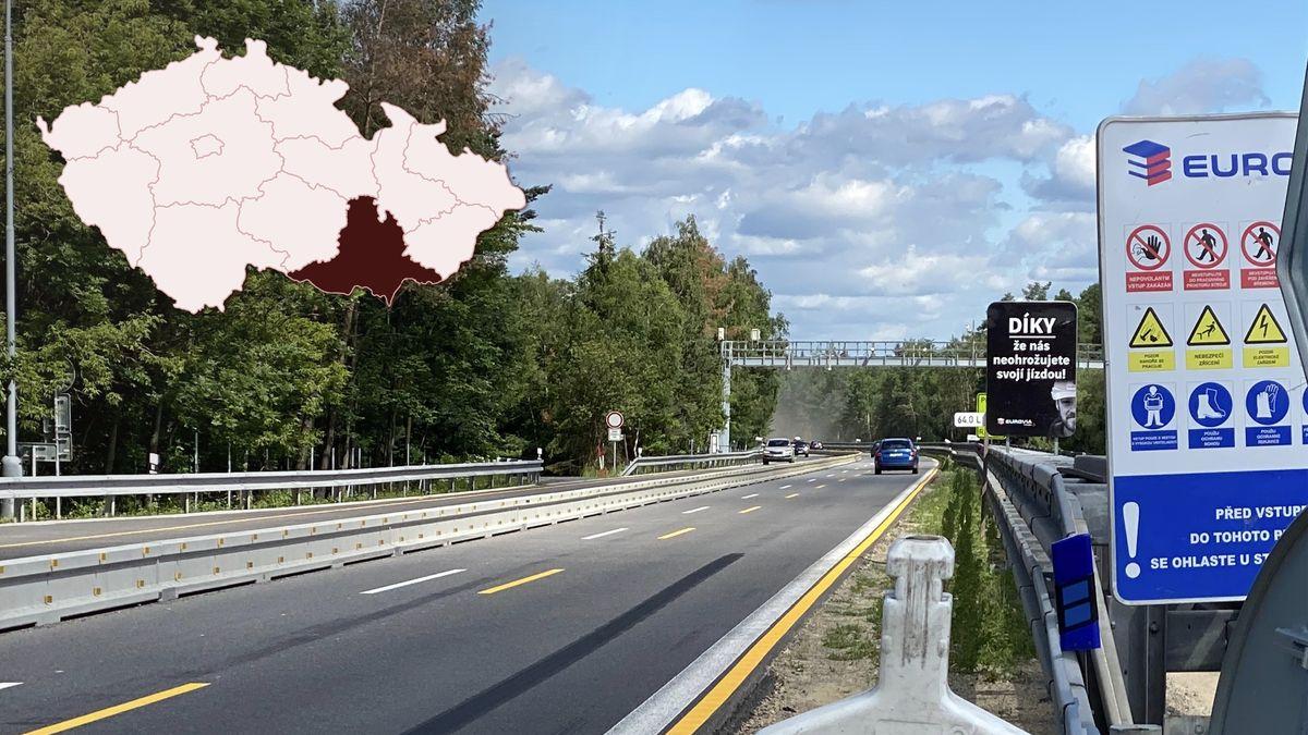 Bez omezení. Modernizace dálnice D1 na jižní Moravě pro letošek skončila